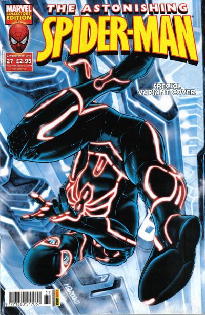 Cover for Astonishing Spider-Man (Panini UK, 2009 series) #27