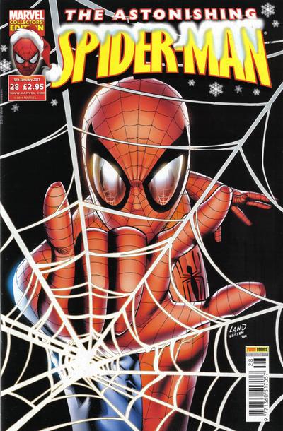 Cover for Astonishing Spider-Man (Panini UK, 2009 series) #28