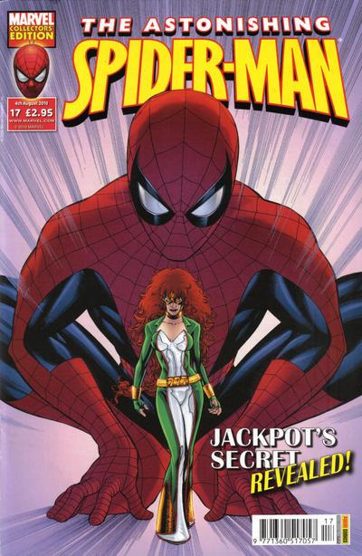 Cover for Astonishing Spider-Man (Panini UK, 2009 series) #17