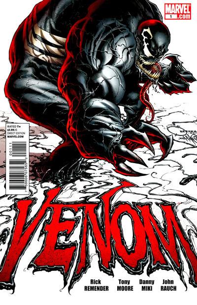 Cover for Venom (Marvel, 2011 series) #1 [Siqueira & Hollowell Variant]