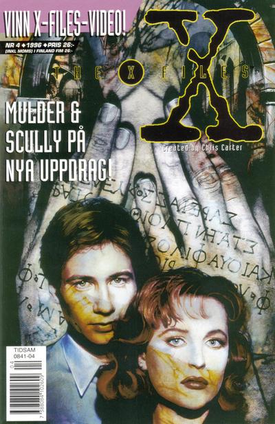 Cover for Arkiv X (Semic, 1996 series) #4/1996