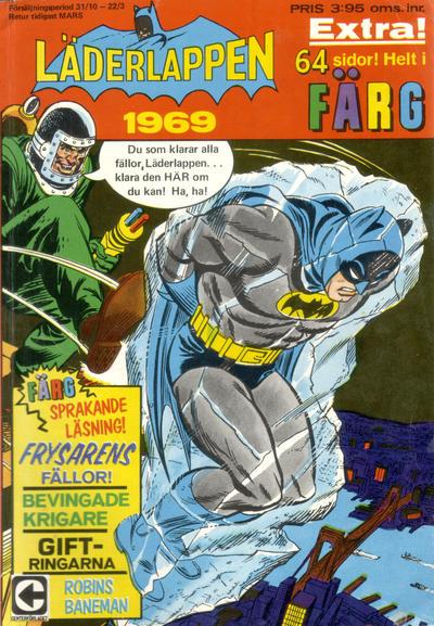 Cover for Läderlappen [och Robin extra] (Centerförlaget, 1968 series) #1969