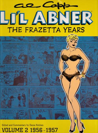 Cover for Al Capp's Li'l Abner: The Frazetta Years (Dark Horse, 2003 series) #2