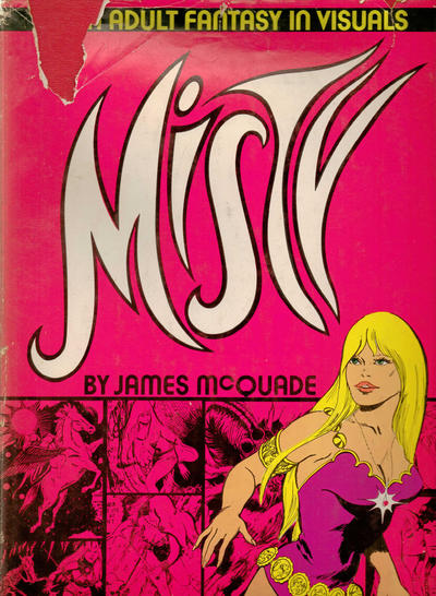 Cover for Misty (Sherbourne Press, 1972 series)