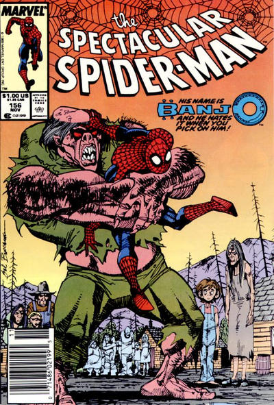 Cover for The Spectacular Spider-Man (Marvel, 1976 series) #156 [newsstand]