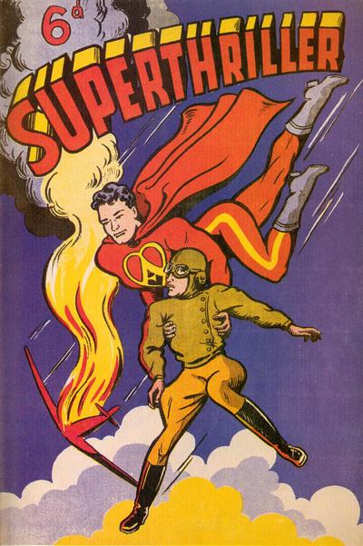 Cover for Superthriller (Foldes, 1947 series) #6