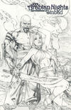 Cover Thumbnail for 1001 Arabian Nights: The Adventures of Sinbad (2008 series) #1 [Eric Basaldua Sketch Cover]