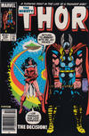 Cover Thumbnail for Thor (1966 series) #336 [Newsstand Edition]