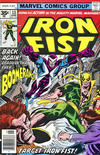 Cover Thumbnail for Iron Fist (1975 series) #13 [35 cent cover price variant]
