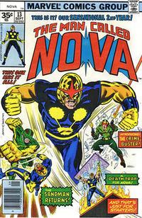 Cover Thumbnail for Nova (Marvel, 1976 series) #13 [35¢ edition]