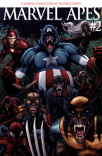 Cover Thumbnail for Marvel Apes (Marvel, 2008 series) #2 [Variant Edition]