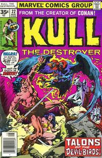 Cover Thumbnail for Kull the Destroyer (Marvel, 1973 series) #22 [35c Variant]