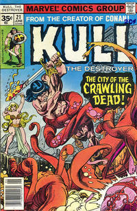 Cover Thumbnail for Kull the Destroyer (Marvel, 1973 series) #21 [35c Variant]