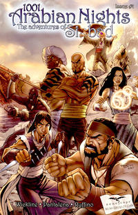 Cover Thumbnail for 1001 Arabian Nights: The Adventures of Sinbad (Zenescope Entertainment, 2008 series) #1 [Talent Caldwell Cover]