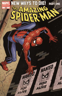 Cover Thumbnail for The Amazing Spider-Man (Marvel, 1999 series) #568 [John Romita Variant Cover]