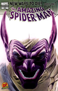 Cover Thumbnail for The Amazing Spider-Man (Marvel, 1999 series) #568 [Dynamic Forces Negative Art Alex Ross Variant]