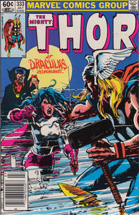 Cover Thumbnail for Thor (Marvel, 1966 series) #333 [Newsstand]