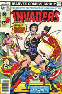 Cover Thumbnail for The Invaders (Marvel, 1975 series) #17 [35 cent cover price variant]
