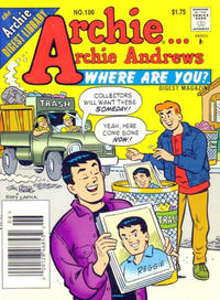 Cover Thumbnail for Archie... Archie Andrews Where Are You? Comics Digest Magazine (Archie, 1977 series) #106