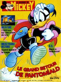 Cover for Le Journal de Mickey (Hachette, 1952 series) #1790