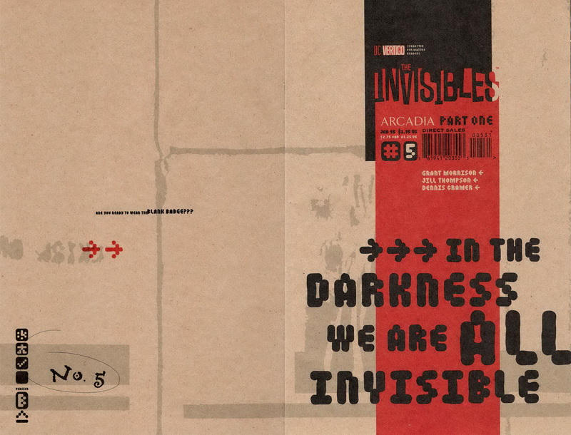 Cover for The Invisibles (DC, 1994 series) #5 [New World Disorder]