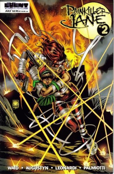 Cover for Painkiller Jane (Event Comics, 1997 series) #2 [Leonardi Cover]