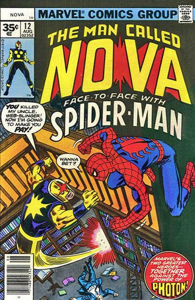 Cover for Nova (Marvel, 1976 series) #12 [35¢ edition]
