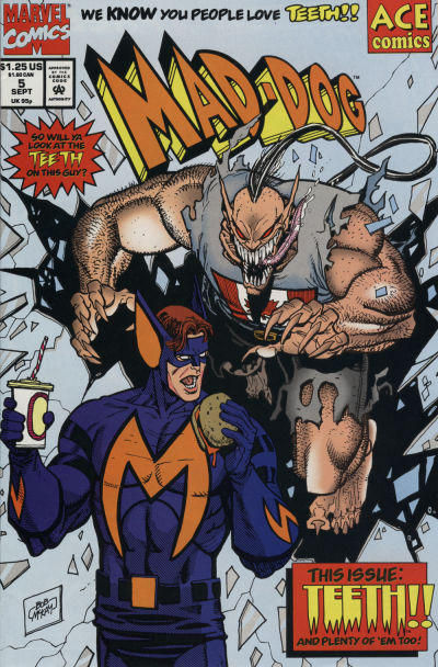 Cover for Mad-Dog (Marvel, 1993 series) #5