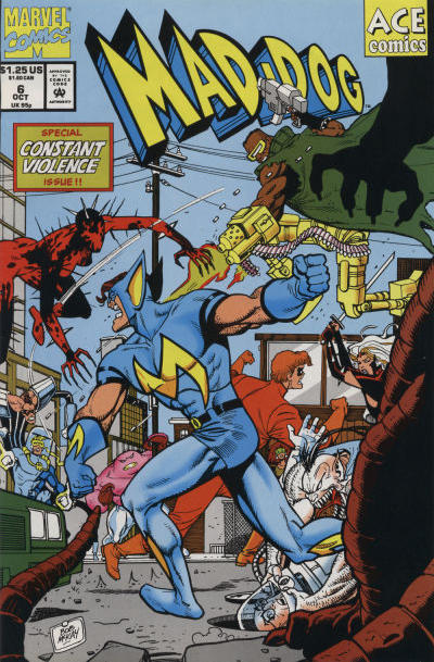 Cover for Mad-Dog (Marvel, 1993 series) #6