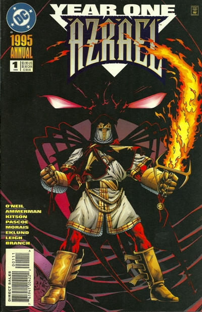 Cover for Azrael Annual (DC, 1995 series) #1 [Direct]
