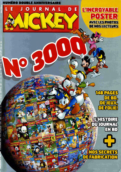 Cover for Le Journal de Mickey (Disney Hachette Presse, 1952 series) #3000