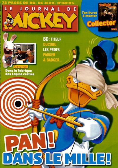 Cover for Le Journal de Mickey (Disney Hachette Presse, 1952 series) #2995