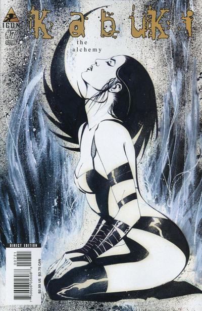 Cover for Kabuki (Marvel, 2004 series) #7