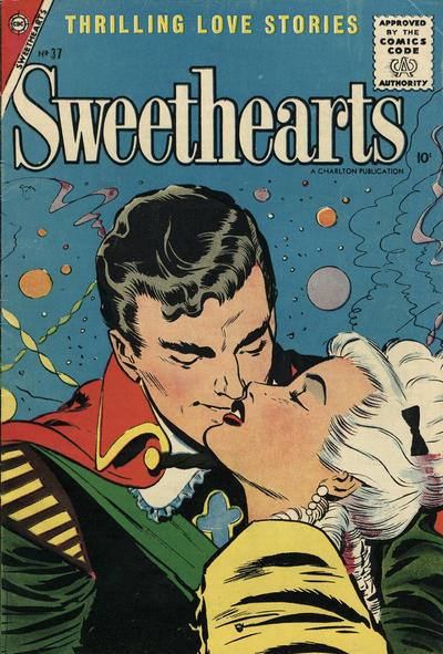 Cover for Sweethearts (Charlton, 1954 series) #37