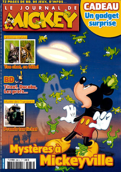 Cover for Le Journal de Mickey (Disney Hachette Presse, 1952 series) #2987