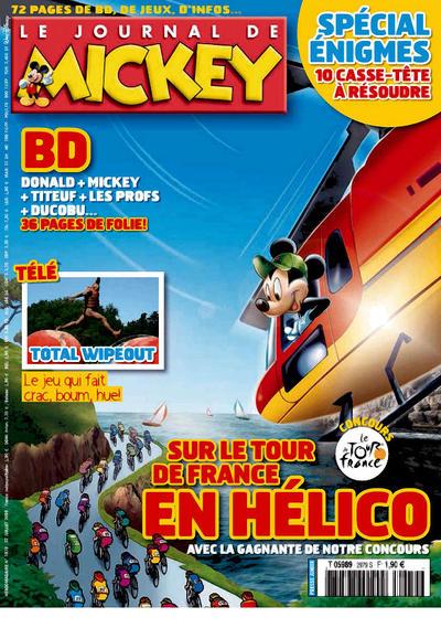 Cover for Le Journal de Mickey (Hachette, 1952 series) #2979