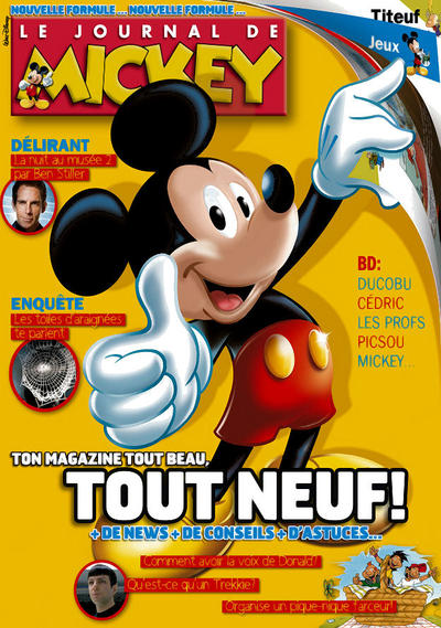 Cover for Le Journal de Mickey (Hachette, 1952 series) #2969