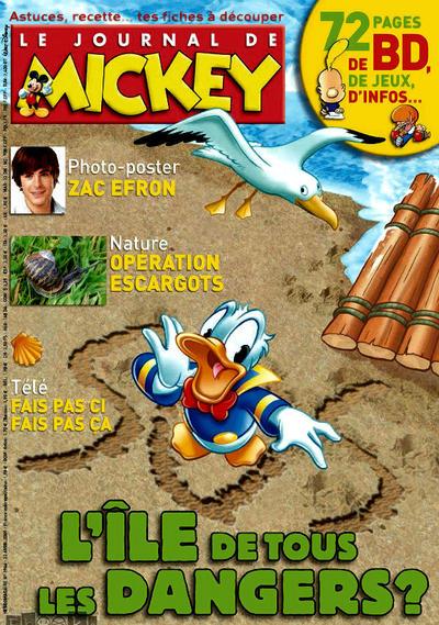 Cover for Le Journal de Mickey (Disney Hachette Presse, 1952 series) #2966
