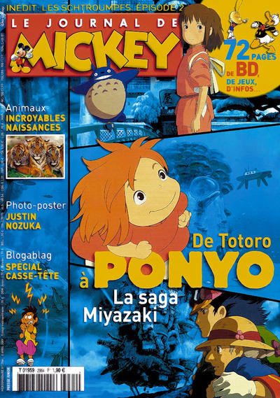 Cover for Le Journal de Mickey (Disney Hachette Presse, 1952 series) #2964