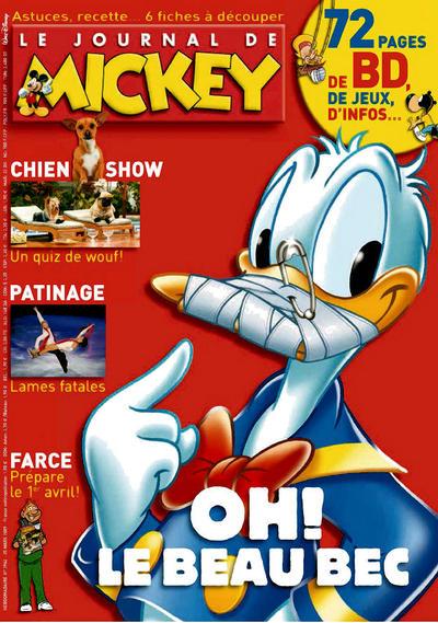 Cover for Le Journal de Mickey (Hachette, 1952 series) #2962