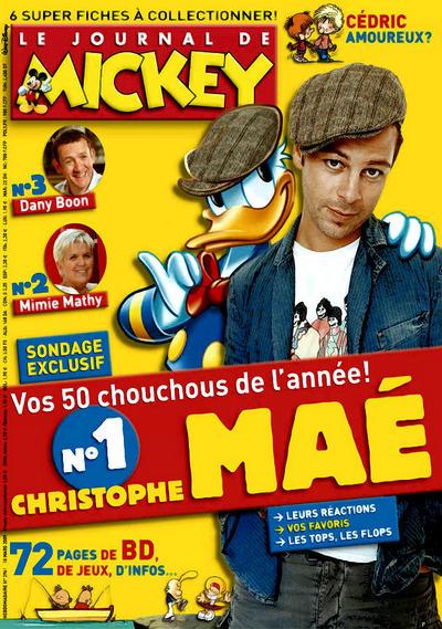 Cover for Le Journal de Mickey (Disney Hachette Presse, 1952 series) #2961
