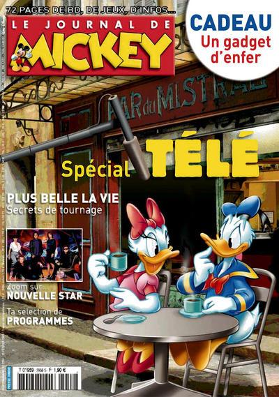 Cover for Le Journal de Mickey (Disney Hachette Presse, 1952 series) #2958