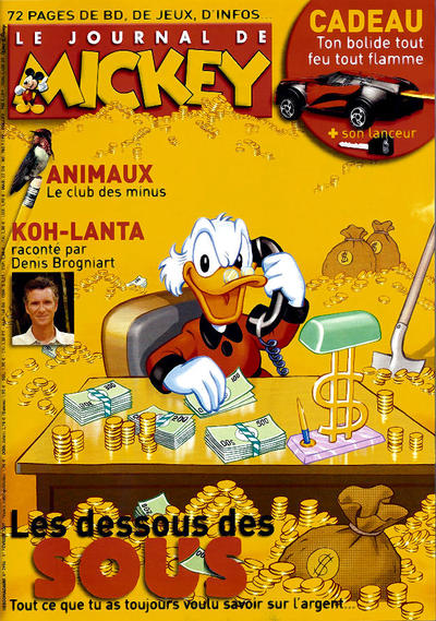 Cover for Le Journal de Mickey (Hachette, 1952 series) #2956