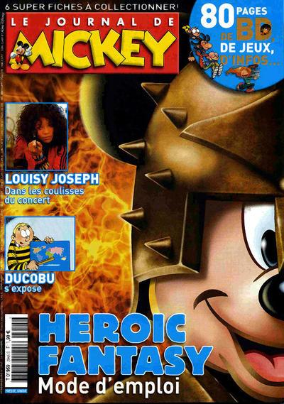 Cover for Le Journal de Mickey (Hachette, 1952 series) #2945
