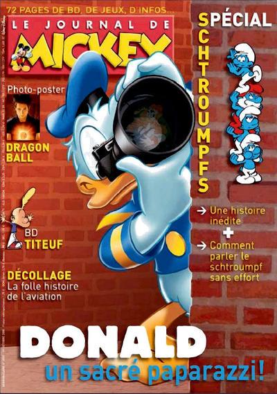 Cover for Le Journal de Mickey (Disney Hachette Presse, 1952 series) #2937