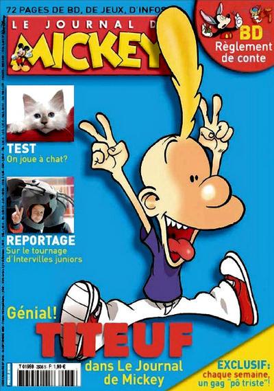 Cover for Le Journal de Mickey (Disney Hachette Presse, 1952 series) #2936