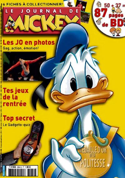 Cover for Le Journal de Mickey (Disney Hachette Presse, 1952 series) #2934