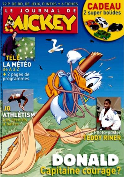 Cover for Le Journal de Mickey (Disney Hachette Presse, 1952 series) #2929
