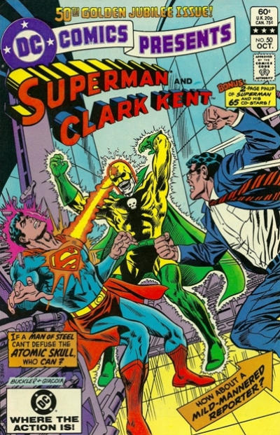 Cover for DC Comics Presents (DC, 1978 series) #50 [Direct]