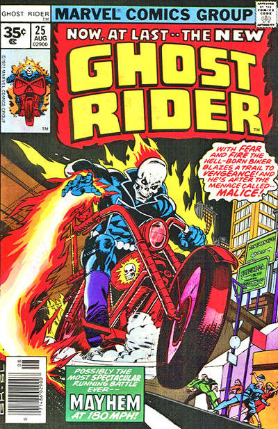 Cover for Ghost Rider (Marvel, 1973 series) #25 [30¢]